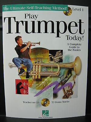 New & In Stock: PLAY TRUMPET TODAY! The Ultimate Self Teaching Method Level 1