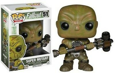 Fallout - Super Mutant - Funko Pop! Games (2015, Toy New)