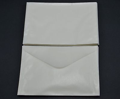 """lot of 100 # 4.5 GLASSINE ENVELOPES 3 1/8 x 5 1/16"""" GUARDHOUSE STAMP COLLECTING"""