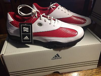 Adidas Driver Pearl Women's Golf Shoes - Brand New Red/White Size 9