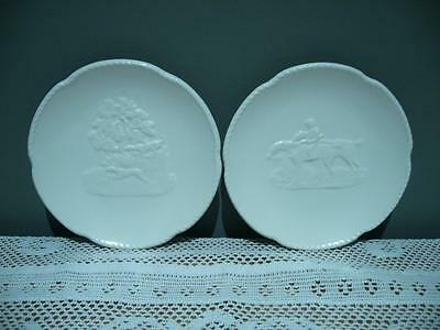 Stunning Spodes Velamour Small Cream Dishes X 2 - England - Very Good Cond