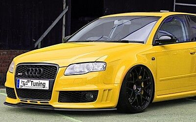 IN-Tuning CUP Frontspoilerlippe für Audi RS4 B7 Limousine + Avant