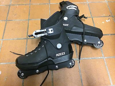 Roces Agressive Roller Blades In Perfect Condition Uk 9.5 RRP £109
