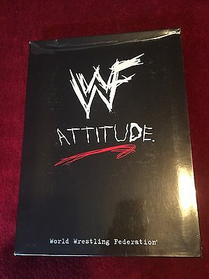 Wwf/wwe Attitude Press Pack With Vhs Tape/magazines/marketing/foley/vince/rare