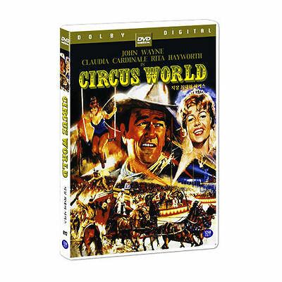 Circus World (1964) (DVD,All,Sealed,New) John Wayne, Rita Hayworth