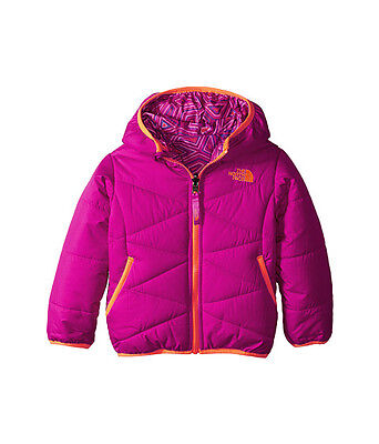 The North Face Kids Reversible Perrito Toddler Jacket Csc3Bdx Luminous Pink Us
