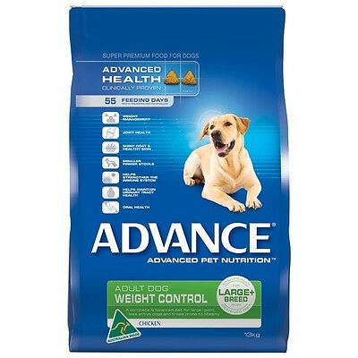Advance Dog Adult Weight Control Chicken Large Breed Premium Dry Dog Food