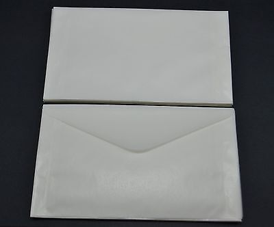 "lot of 100 - # 5 GLASSINE ENVELOPES 3 1/2 x 6"" GUARDHOUSE STAMP COLLECTING"