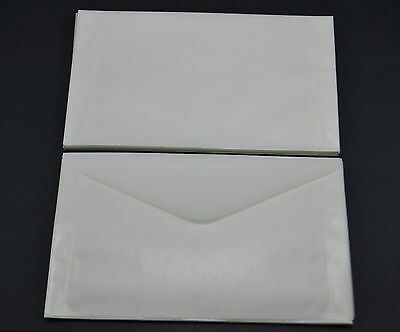 """lot of 50 - # 5 GLASSINE ENVELOPES 3 1/2 x 6"""" GUARDHOUSE STAMP COLLECTING"""