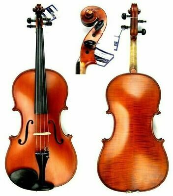 "Gliga GEMS I  advanced 15 1/2"" Viola Outfit setup Helicore Strings  Case & Bow"