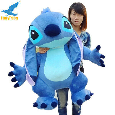 Giant hung big Plush Lilo&Stitch soft Doll Soft Stuffed Toys Kids Birthday Gift