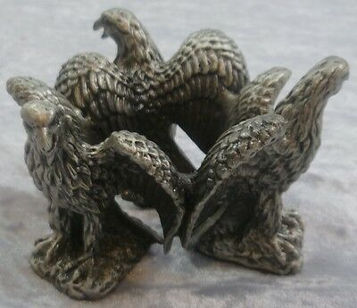 Triple Eagle Pewter Stand