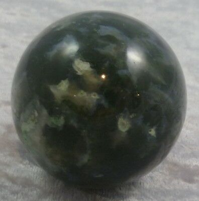 Moss Agate Sphere 50Mm