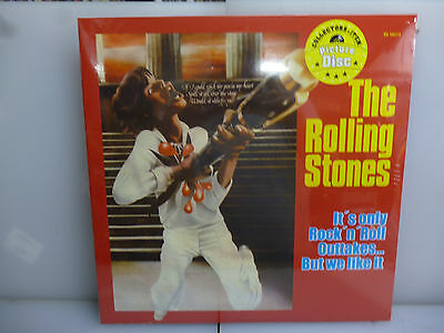 Rolling Stones-It's Only R'n'r Outtakes-Picture Vinyl Lp-New.sealed