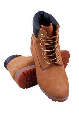 10061 Men 6-Inch Premium Waterproof Boot Timberland Wheat Nubuck