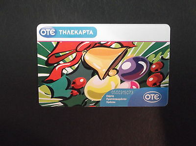 GRIECHENLAND Merry Christmas, tirage 20000, 11/10, used GREECE GRECIA GRECE CARD