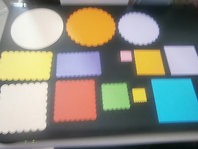 LOTS OF SHAPES TO CHOOSE FROM! ALL PUNCHED USING 160gsm CARD. GREAT BARGAINS!!!