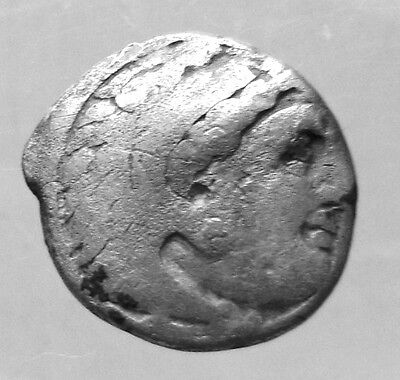 ALEXANDER III, THE GREAT. SILVER DRACHM. COLOPHON. Ref. 9978.