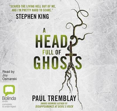 A Head Full of Ghosts: A Novel by Paul Tremblay Compact Disc Book Free Shipping!