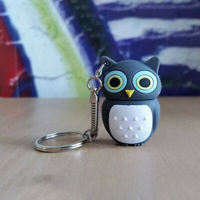 USB Stick Eule/Vogel/Tier/Anthrazit 16 GB