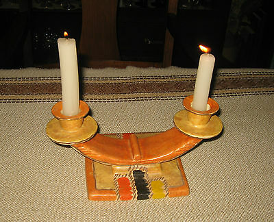 A Vintage Candle Holder : Art Deco From Czechoslovakia
