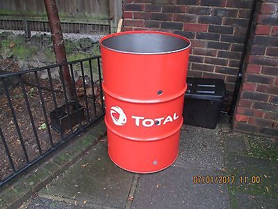 Garden incinerator, Burning Bin, 205 litre Very large Ready to use,Rubbish Wood,