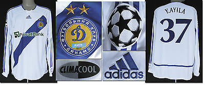 Match Worn shirt Trikot Dynamo Kiew Kiev Champions League Fußball Football 2007