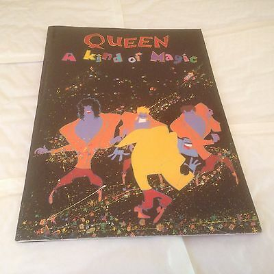 Queen - A Kind Of Magic - Tour Programme 1986