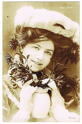 1908 Real Photo Postcard - Ethel Oliver - Actress