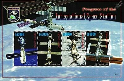 Progress of the International Space Station (ISS) Stamp Sheet/2006 Sierra Leone