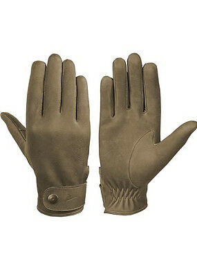 Laksen London Nubuck Leather Shooting Gloves
