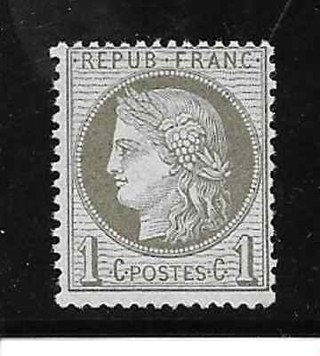 France Ceres N° 50 Luxe Xx Cote 100 Euro (Lot 2/1