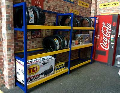 1/18 scale double Tyre rack/ shelving rack for garage diorama