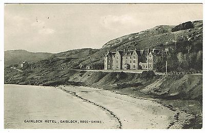 Early Postcard - Gairloch Hotel - Gairloch Ross-shire Scotland