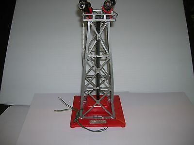 """American Flyer """" Floodlight Tower """" that works , no box see notes lot # 10153"""