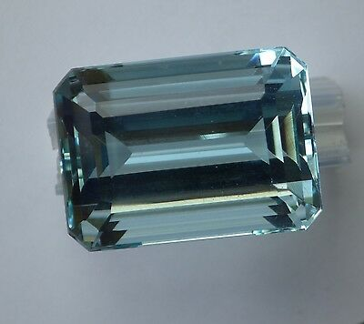 Rare Aigue Marine 28.60 Carats / Bresil / Aquamarine / Video