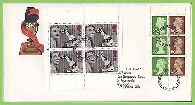 G.B. 1997 BBC two booklet panes on Royal Mail First Day Cover