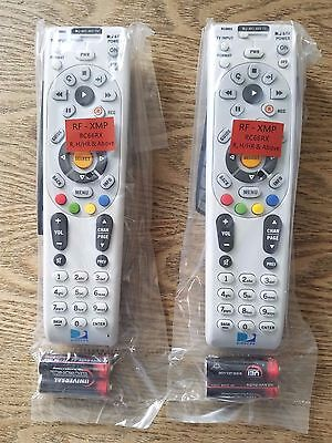 Lot Of 2 Directv Rc66Rx Universal Remote Hd/Dvr Ir/Rf 2Aa Batteries / Nip!