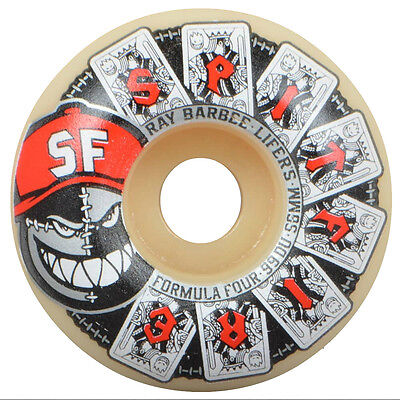 "New SPITFIRE Formula Four Barbee ""Lifers"" Classic Skateboard Wheels 56mm / 99A"