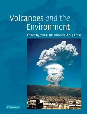 Volcanoes and the Environment by Joan Marti (English) Paperback Book Free Shippi