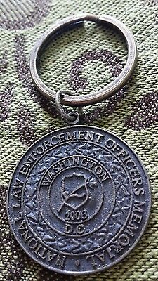 2003 National Law Enforcement Officers Memorial Washington D.c. Keychain