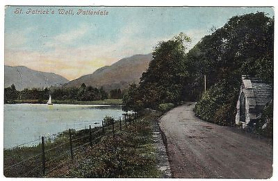Postcard St. Patrick's Well Patterdale Cumbria 1904