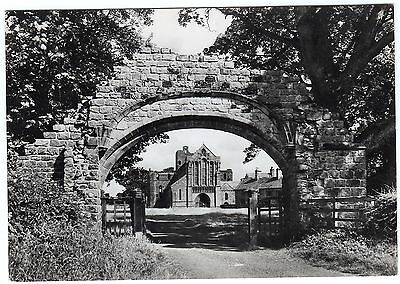 Postcard West Front From Priory Gateway Lanercost Priory Cumbria Unused RP