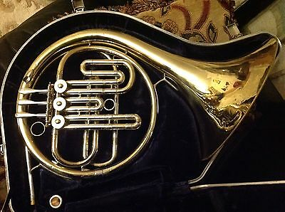 Bb Single French Horn: Olds Ambassador, with Denis Wick Mouthpiece and Conn Case