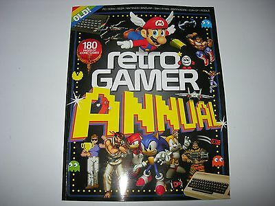 RETRO GAMER ANNUAL - Brand NEW: Mario, Sonic, SF, BBC, Outrun, Star Wars +