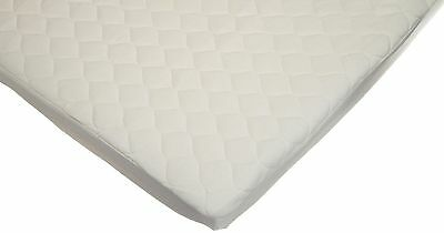 American Baby Company Organic Waterproof Natural Quilted Fitted Portable/Mini