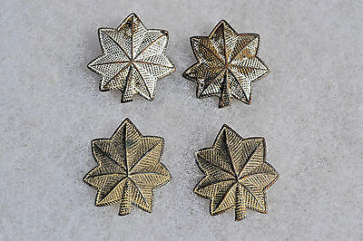 Us Uniform Hat Insignia Badge Pin Officer's Rank Pins U.s. Military Wwi Wwii #4