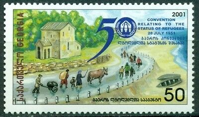 Georgia Scott #285 MNH Commission on the Status of Refugees $$