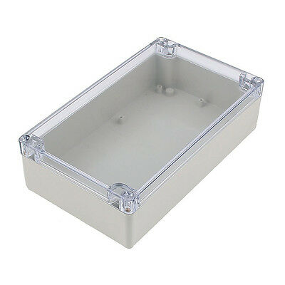 Splashproof Project Enclosure Case DIY Wiring Junction Box 200x120x55mm ED