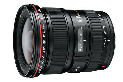 Canon EF 17-40mm 1:4L USM Ultra Wide Zoom Lens - AS NEW